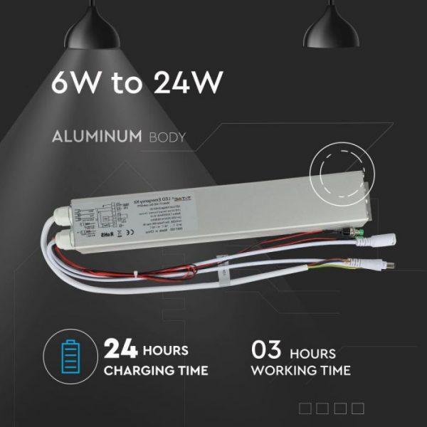 24W Emergency Battery