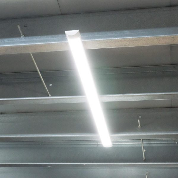 40W LED Batten Fitting, Prismatic, Slim, with SAMSUNG CHIP - 4ft (120CM)