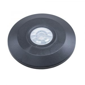 PIR Ceiling Sensor Flat Surface Black 360 degree