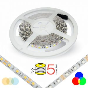 12V Flexible LED Strip light White RGB
