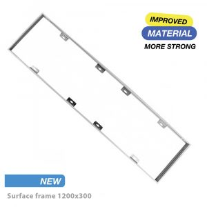 surface frame for led panel 1200x300