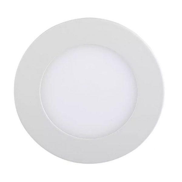 3W LED Recessed Panel - Round