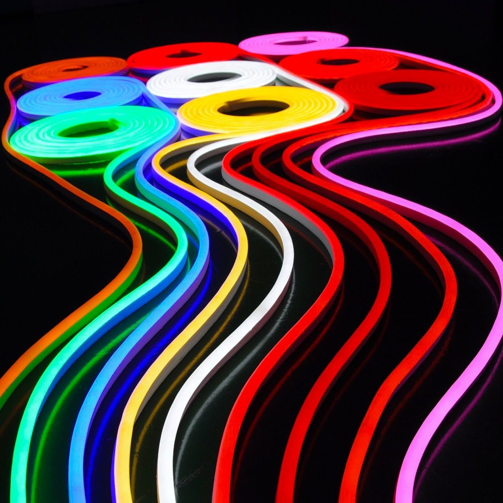 Led Neon Flex 8w M 24v 10m Reel All Colors Smart Lighting Industries