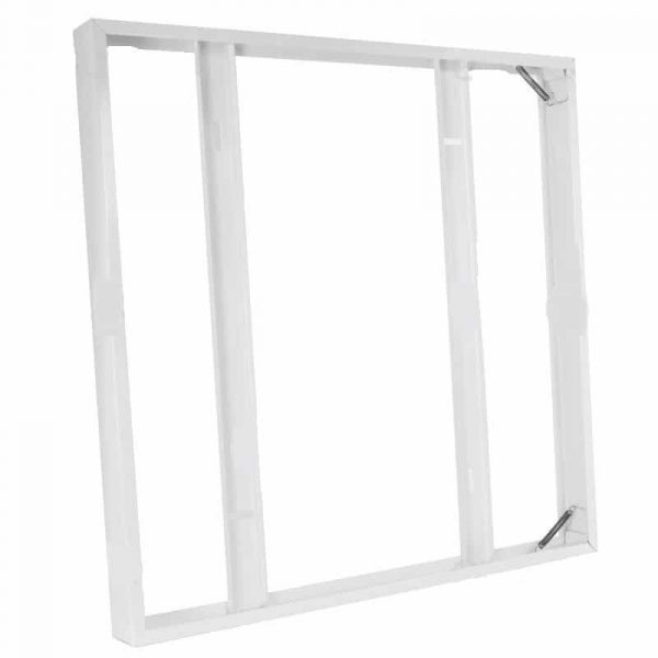600x600 Surface Mounting Metal Frame for LED panels - White