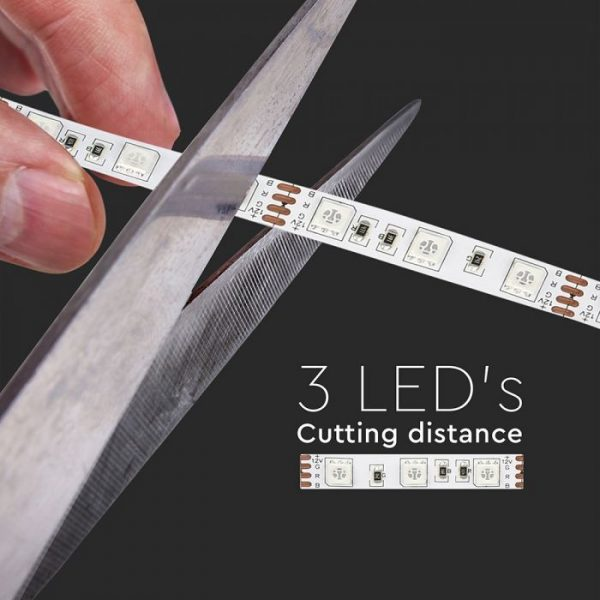 LED Strip KIT 60LEDs  5m Reel with Power Supply and Remote Controller