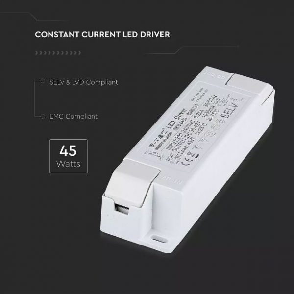 45W Driver for LED panel Non Dimmable 2 Years Warranty