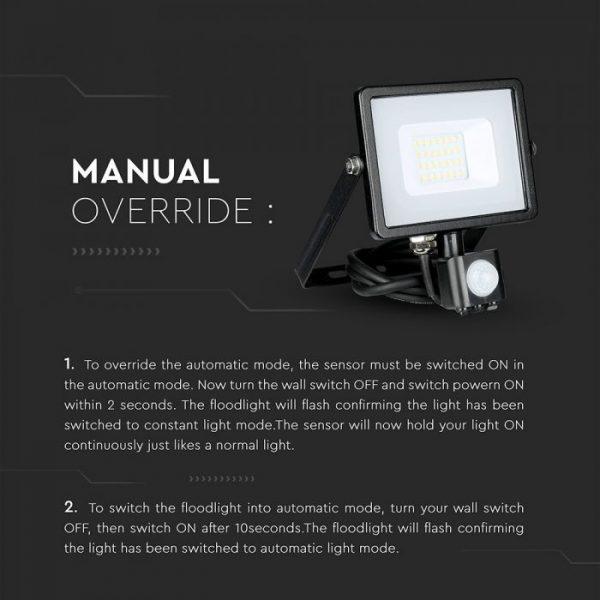 sensor floodlights