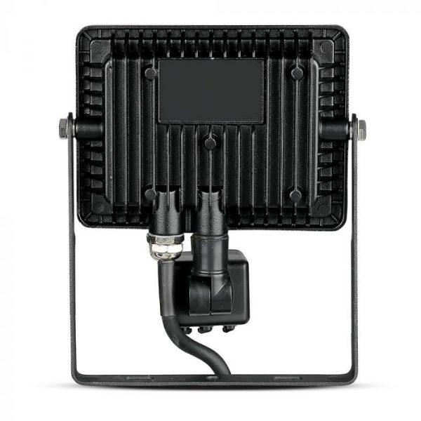 Black sensor floodlights