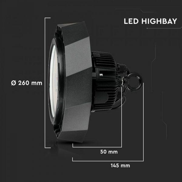100W High Bay Light (MeanWell + SAMSUNG) 180 Lm/W