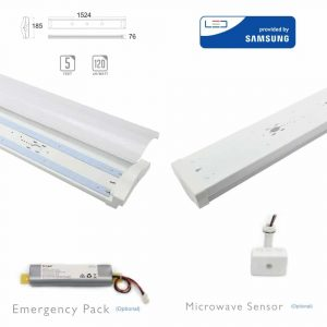 60W LED Grill Fitting-152cm with Samsung Chip 4000K