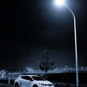 Photocell street light LED streetlight with sensor