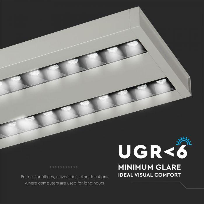 60W LED Linear Hanging Light (Linkable)