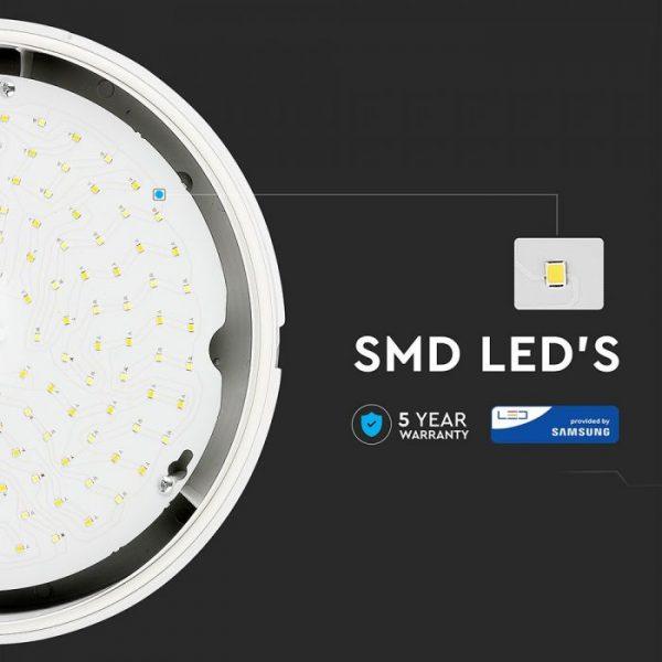 15W LED Dome Light IP65