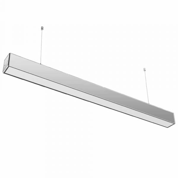 40W LED LINEAR HANGING SUSPENSION LIGHT WITH SAMSUNG CHIP GREY