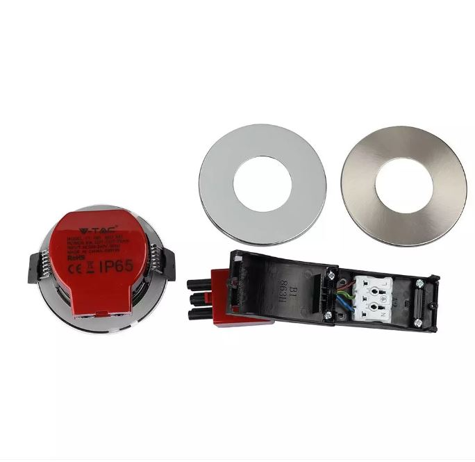 8W LED Fire Rated Downlight IP65 CCT:3in1 Dimmable