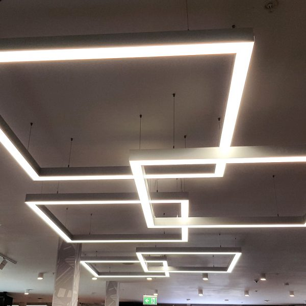 Square linear lights