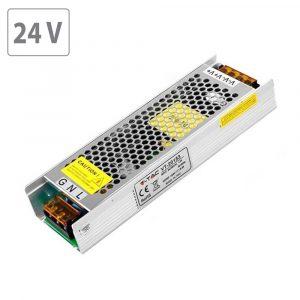 150W LED Power Supply - 24V - 6.5A Metal