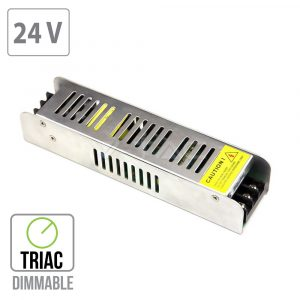 150W LED Power Supply - TRIAC Dimmable - 24V - 6.25A Metal
