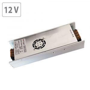 350W LED Slim Power Supply -12V - 30A Metal