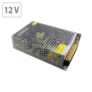 100W LED Power Supply -12V DC- Metal 8.5A