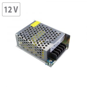 36W LED Power Supply -12V DC- Metal 3A