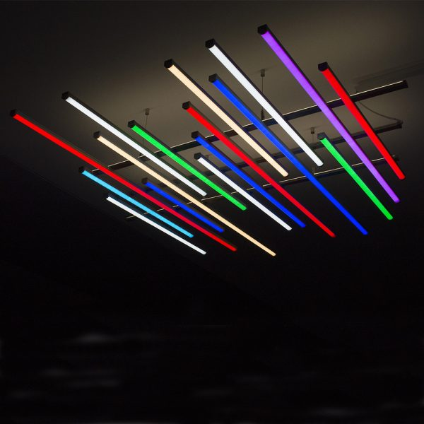 Bespoke Abstract LED Light Lines