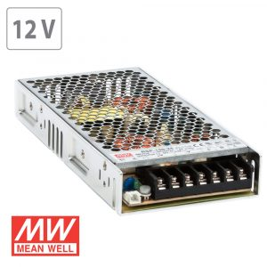 200W LED  Slim Power Supply -12V DC- Metal 17A