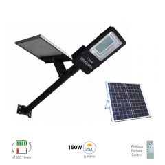 150W solar streetlamp battery solar streetlamp