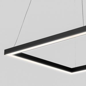 Bespoke LED Rectangle Light Suspended & Surface