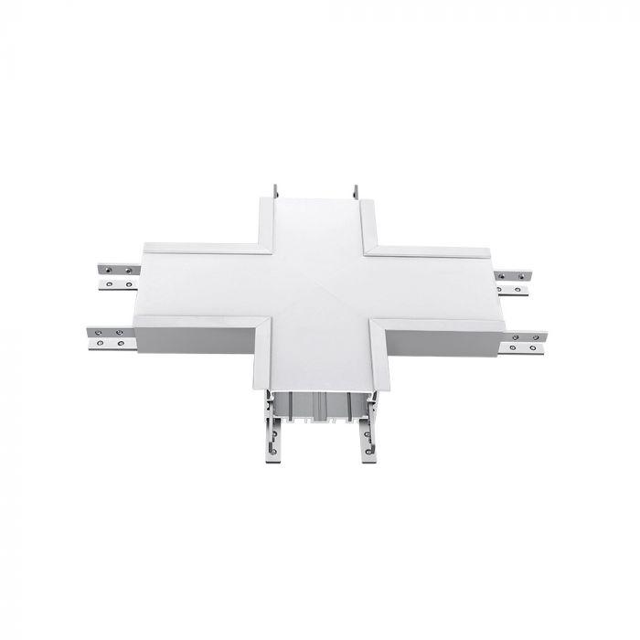 16W X Shape Connector Downside 4000K 70mm