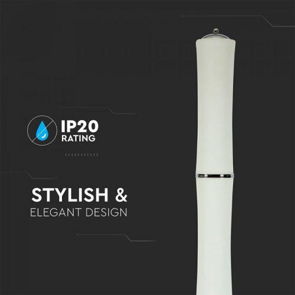 65W LED Floor Lamp White 3000K