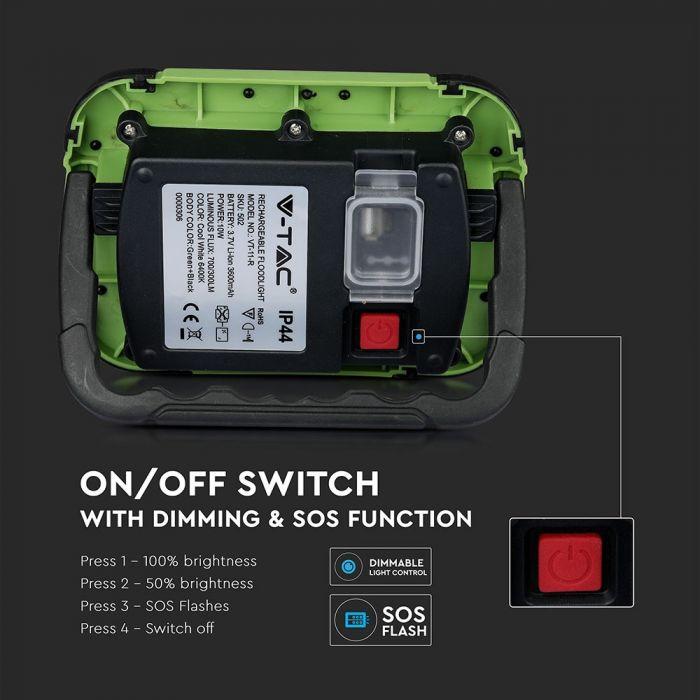 portable rechargeable flood light, portable SOS floodlights
