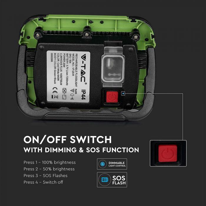 portable SOS flood lights