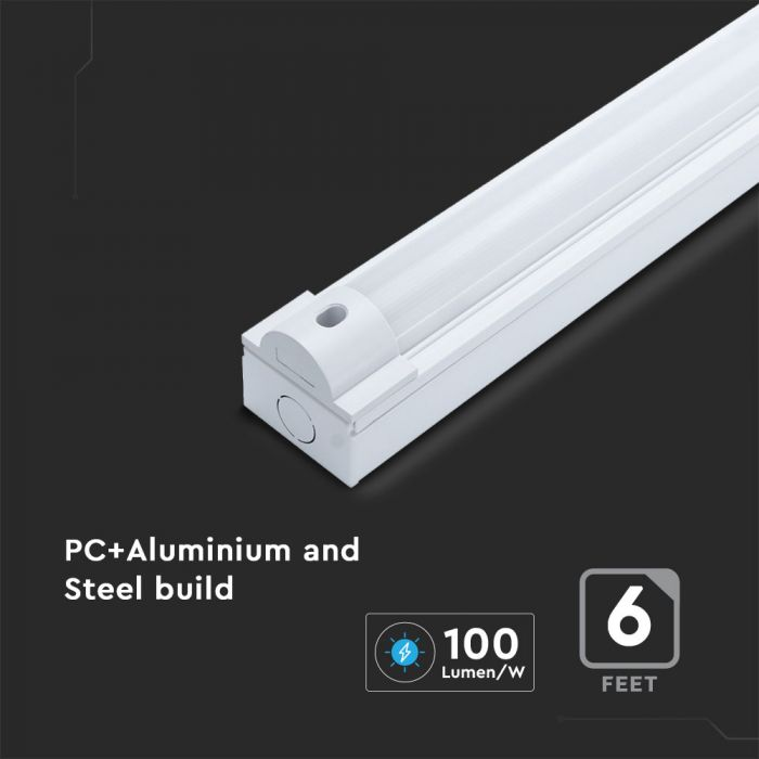 60W  LED Batten Fitting-180cm with Samsung Chip CCT:3in1, 5y Warranty
