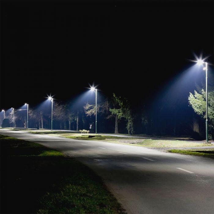 LED Street Light SAMSUNG CHIP A++ 5 years Warranty - 30W Grey Body