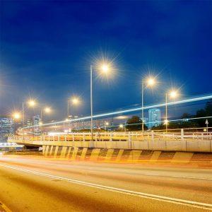 wide-angle street light