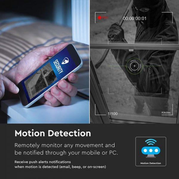 1080P Wi-Fi NVR Camera Set of 4 IP20 - Indoors & Outdoors