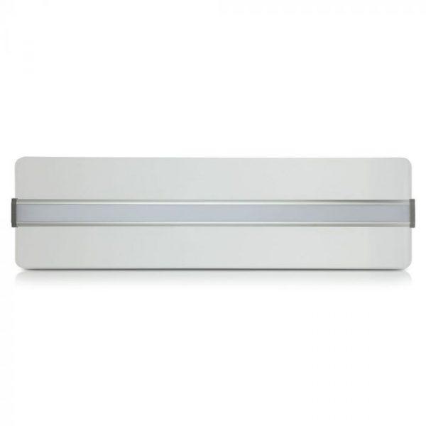 40W Suspended LED Panel 1200x300 Transparent