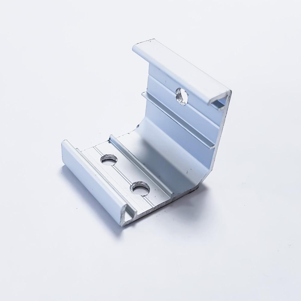 Corner Aluminium LED Profile Bracket 24.8 x 24.8 mm
