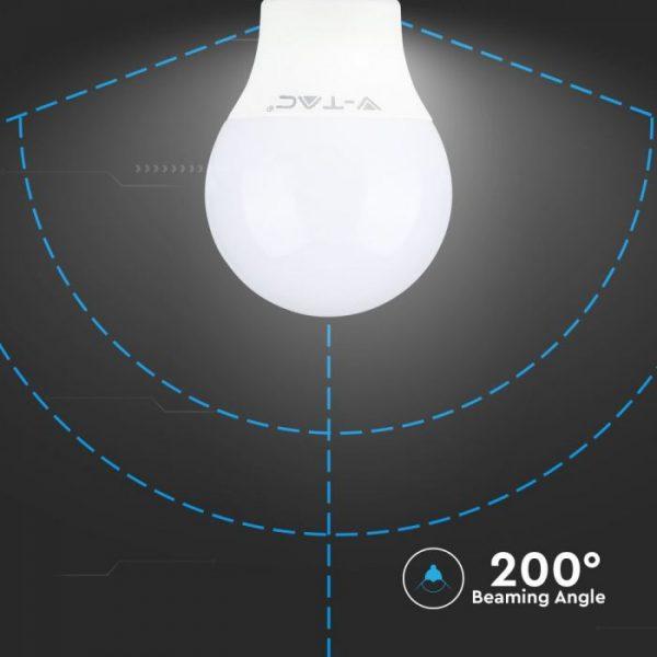9W Plastic Bulb A60