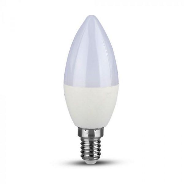 7W Plastic Candle Bulb