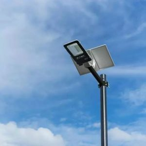 solar panel street light, remote control solar streetlamp