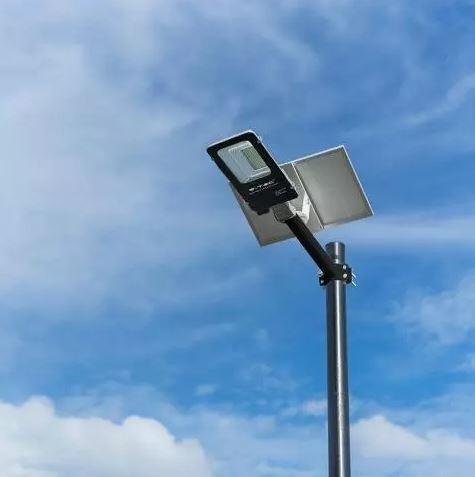solar panel street light, remote control solar streetlamp