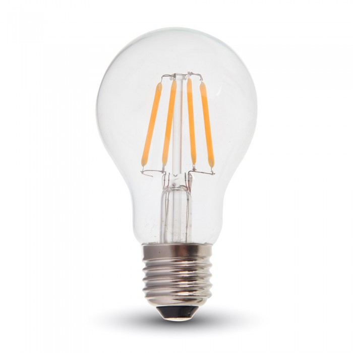 6W A60 LED Filament Bulb with Samsung Chip A++