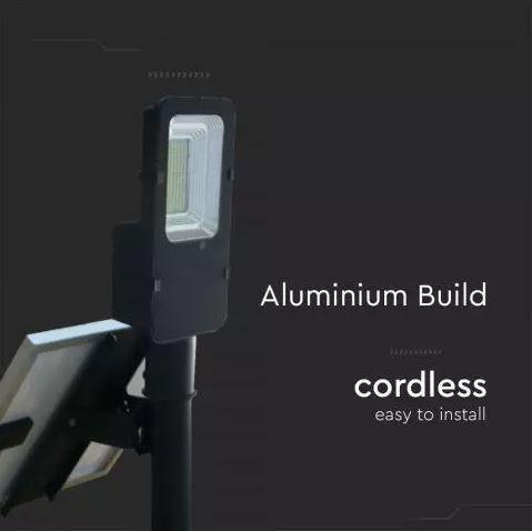 LED solar panel light