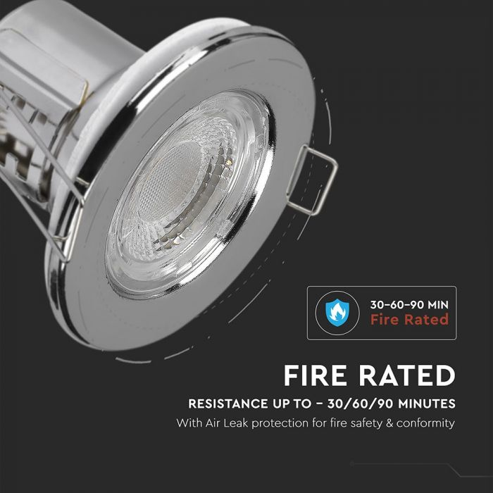 5W Fire-Rated Downlight Dimmable IP65