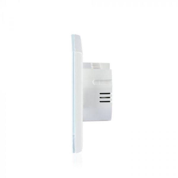 1 Gang 1 Way Touch Switch White