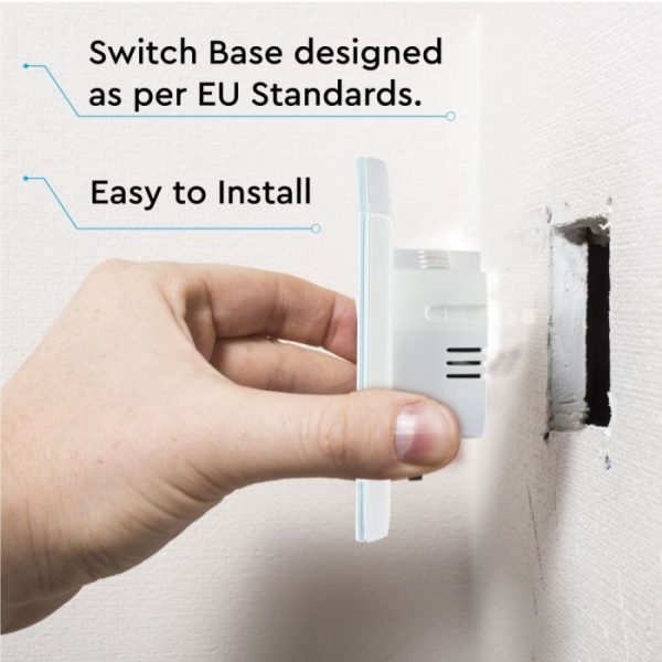 1 Gang 2 Way Touch Switch White