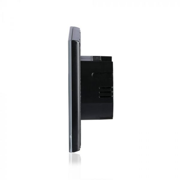 1 Gang 1 Way Touch Switch Black