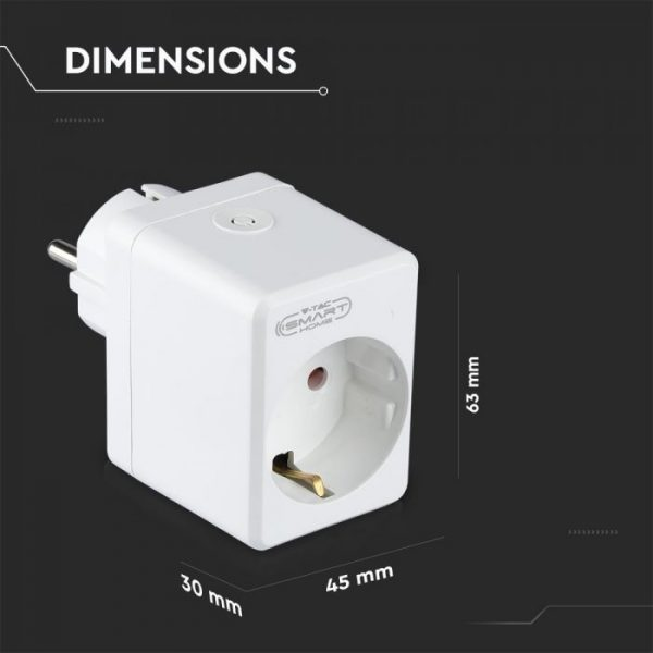 WIFI Mini Plug with USB - compatible with Amazon Alexa and Google Home